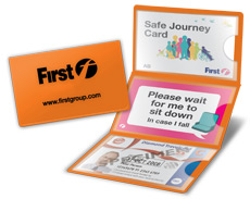 Safe Journey and Better Journeys Cards