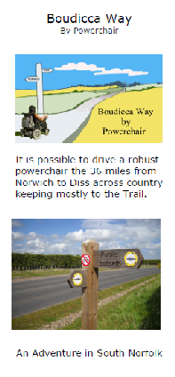 Accessibility Guide Leaflet